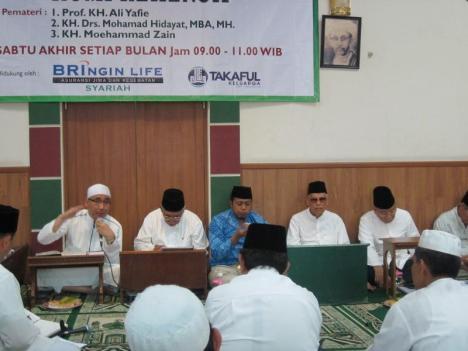 KH Mohamad Hidayat Tengah Memberi Ceramah